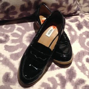 Steve Madden Patent Leather Penny Loafers